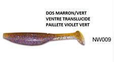Noeby pêche leurre souple odorant Shad Minnow 15cm 27g couleur 9