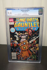 Marvel Comics  The INFINITY GAUNTLET #1  CGC 9.4 (white page) INFINITY WAR Movie