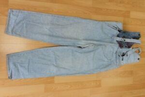 L3420 No Name Latzhose Jeans S  blau  Gut