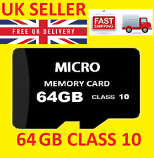 64GB MICRO SD TF C10  ULTRA FLASH MEMORY CARD WITH ADAPTER FOR MOBILE & CAMERA
