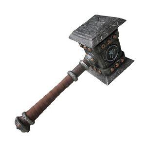 Angroschhammer für Rollenspiel & Cosplay 56cm - Polster - Waffe für LARP   (R11)