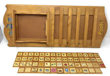 Disney Winnie the Pooh Perpetual Wooden Wall Calendar with wood tiles  no plates