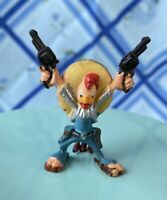 "Vintage Marx Toys Disneykins PANCHITO Figure 1"" Plastic Hand Painted 1961"