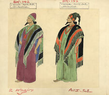 Costumier after Percy Anderson, Costume Design for 'Cairo' 1921: Wazirs