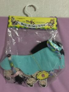 Muffy Collection ~ Happy Birthday to You OATSIE Outfit ~ New in Package  (C79)