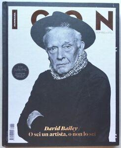 Icon Uomini e stili Panorama rivista n. 12 2013 David Bailey fotografia moda