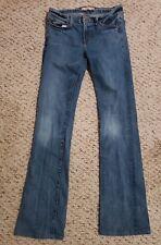 J Brand Womens Jeans Stretch Size 27 Blue Denim Straight Leg Boot Cut Low Rise