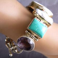 Sterling Silver Amethyst 19 - 19.99cm Fine Bracelets