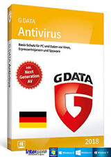 G Data Antivirus 2018 Vollversion 3 PC & Handbuch (PDF) Download NEU