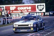 Fitzpatrick & Heyer & Glemser Ford Capri Rs Le Mans 1973 Photograph 1