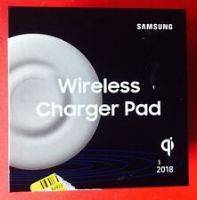 Genuine Samsung 9W Wireless Charger Pad - White  EP-P3100TWEGUS NEW!!