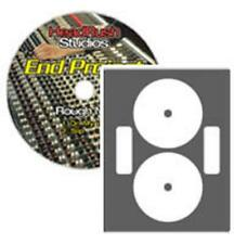 Full Coverage LaserGloss CD/DVD Labels - 100 Pack (CLP-192237)
