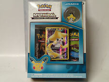 POKEMON CCG Mythical Collection JIRACHI factory sealed Box! Promo Card & Pin!!