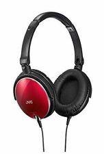 JVC Victor Fold type stereo headphone HA-S600-R / Red / Airmail with Tracking