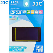 JJC LCP-CM1 LCD Guard Film Camera Screen Protector for Panasonic Lumix CM1