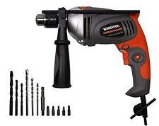1050-Watt Electric Impact Hammer Variable Speed Drill Driver Screwdriver