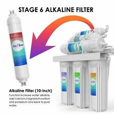 Alkaline Mineral pH+ 75GPD Drinking Water Filter System 6-Stage Reverse Osmosis
