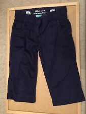 GIRLS MONSOON JEANS - NAVY -  6-7 YRS OLD