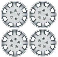 "Set of 4 Wheel Trims / Hub Caps 14"" Polus Covers fit Peugeot 106 107 206 207"