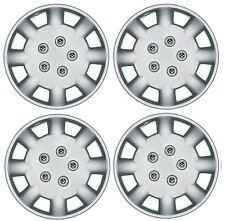 "Set of 4 Wheel Trims / Hub Caps 14"" Polus Covers fit Peugeot 106 107 206 207"