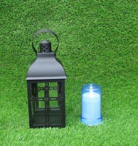 Memorial Lamp with Crosses Grave cemetery memorial ornament