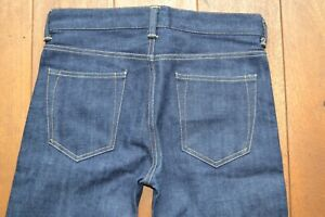 EDWIN ED-one jeans Japanese Selvedge Denim Fabric Slim Fit NWOT Unwashed Raw