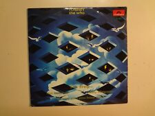 """WHO: Tommy Excerpts From- Portugal 7"""" 1970 Polydor 78 007 EP Mono w/4 Tracks PCV"""