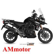 Mivv Triumph Tiger Explorer 1200 2013 Escape Moto Silenciador Speed Edge Black