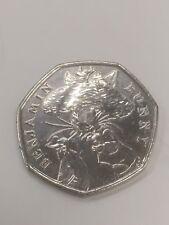 Rare 2017 Benjamin Bunny 50p Coin