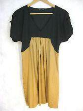Bracewell Size 6-8 Black and Dark Gold Evening Wear Dress