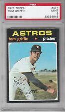 1971 Topps Baseball Tom Griffin #471 PSA 9