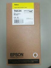 T653400-Epson Ultrachrome HDR Yellow Ink Cartridge (200 ml), T6534, 03/2019