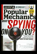 2013 Popular Mechanics Magazine: Who's Spying On You?/Top 10 Home Tech. Trends