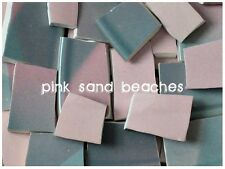 Hawaii Pink Sand Beaches ~ Double Sided * handcut china mosaic Tile tiles