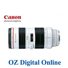 Canon EF 70-200mm 70-200 f/2.8 F2.8 L USM 1 Year Au Wty