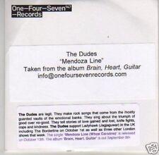 (L319) The Dudes, Mendoza Line - DJ CD