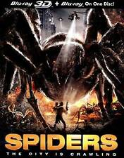 Spiders (3D/2D Blu-Ray) Like New
