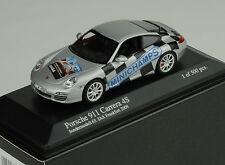 Porsche 911 997 carrera 4s de AJA 2009 Silver Minichamps 1:43 1/500pcs