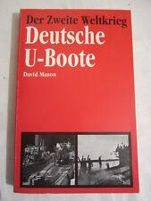 Deutsche U- Boote David Mason ,1992