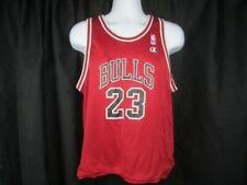 VTG 90s Michael Jordan 23 Chicago Bulls NBA East Champion Reversible Red Black J