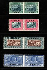 1938 South West Africa Sc #B5-B8 Voortrekker Semi-Postals Mint HR; SCV $109.00