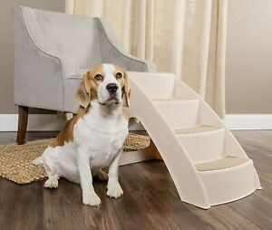 PetSafe Solvit PupSTEP Lite Pet Stairs, Steps for Dogs and Cats, Best for Small