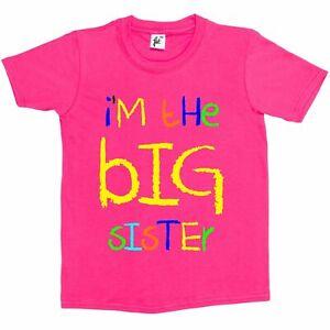 I'm The Big Sister Funny Kids Girls T-Shirt
