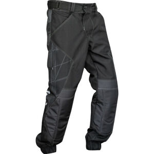 Valken Paintball Black EXO Jogger Protective Playing Pants - X-Large XL (34-40)
