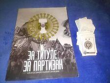 ALBUM vuoto e pieno Adesivo Set FC PARTIZAN BELGRADO, PARTIZAN BEOGRAD, grobari