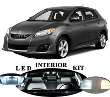 LED for Toyota Matrix Xenon White LED Interior Package Upgrade (6 pieces)