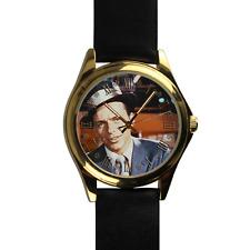 Frank Sinatra Watch Gift Music Watch Great Genuine Leather Strap Wrist Watch