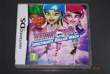 Monster High Skultimate Roller Maze Nintendo DS 3 DS Reino Unido PAL ** GRATIS UK FRANQUEO **