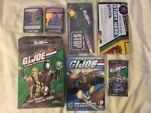 GI JOE TCG Two Player Starter Decks (Joe & Cobra) Plus more NEW Trading Card