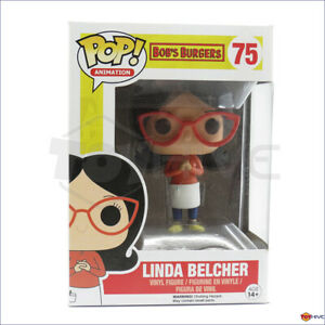 Funko Pop Animation series Bob's Burger - Linda Belcher 4-inch vinyl figure #75